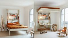 Elevating Bed Frames - Espace Loggia's Customizable Elevator Bed Allows for Additional Space (GALLERY)