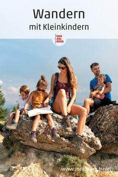 Der Weg ist das Ziel! Sich in der Natur bewegen, die Natur entdecken und spielen ist wichtiger als eine Wegstrecke zurücklegen... Wandertipps in Vorarlberg für Familien mit Kleinkindern von 3 bis 5 Jahren. #wandern #hiking #familie #family #familienwanderung #familyhike #visitvorarlberg #myvorarlberg Movie Posters, Movies, Playing Games, Goal, Hiking, Nature, Films, Film, Movie