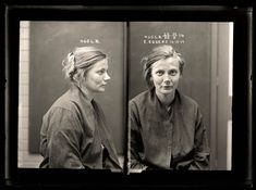 Esther Eggers, 16 December 1919 - Crime: malicious injury to property and wounding with intent to do grievous bodily harm. When a police officer arrived to arrest Esther Eggers for malicious damage she attacked him, causing serious injury. Eggers was sentenced to 12 months prison. Aged 22.