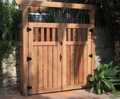 GARDEN GATE Custom wood gates made of iron an white cedar, All the iron is welded and will last a long time set on metal posts for even more durability. Description from pinterest.com. I searched for this on bing.com/images