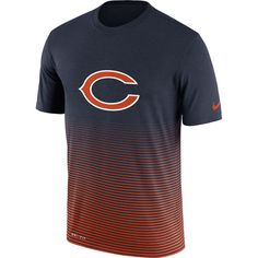 Chicago Bears Nike New Day Enhanced Performance T-Shirt - Navy