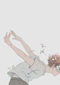 haikyuu, hinata shoyo, and hq image solo nice artist: cynthia tedy Manga Anime, Manga Art, Anime Art, Cartoon Kunst, Anime Lindo, Haikyuu Wallpaper, Image Manga, Animation, Haikyuu Anime
