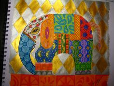 Indian Elephant Art | Indian Elephant/Indisk fant « Tovas Art