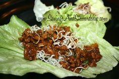 Copycat P.F. Chang's Lettuce Wraps