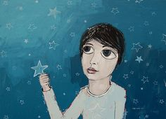 Sky puzzle, 2011. Painting by Vane Kosturanov.