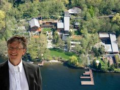 """With a net worth of $82.2 billion, Microsoft co-founder Bill Gates is the richest man in America. It shouldn't be too surprising that one of the wealthiest people in the world also has an insanely extravagant home.  It took Gates seven years and $63 million to build his Medina, Washington, estate, named """"Xanadu 2.0"""" after the fictional home of Charles Foster Kane, the title character of """"Citizen Kane.""""  At 66,000 square feet, the home is absolutely massive, and it'..."""