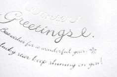 WinterGreeting2015 on Behance
