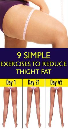"9 Simple & Best Exercises To Reduce Thigh Fat Fast At Home ! Having fat or plump does mean that you cannot get rid of it , and also this should not make you think negatively about yourself .An as the proverb goes , ""when there is a will, there is a way"". Exercise For Lower Belly, Exercise To Reduce Thighs, How To Reduce Thighs, Weight Loss Smoothies, Healthy Weight Loss, Weight Loss Drinks, Weight Loss Tips, Reduce Thigh Fat, Lose Thigh Fat"