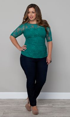 Jeans and laze top