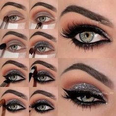 Eye Makeup Tutorial-adore this look...now i just need an occasion ;-)