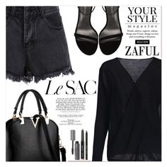 """""""www.zaful.com/?lkid=11103"""" by lucky-1990 ❤ liked on Polyvore featuring Bobbi Brown Cosmetics, Stuart Weitzman and Pussycat"""