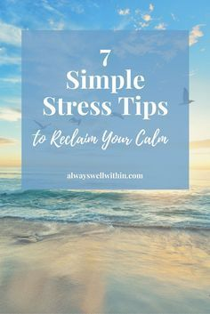 Simple stress tips you can apply right now.