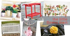 flower mart inspiration board