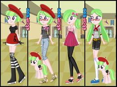 My Little Pony Equestria Girls Watermelody Dress Up Game : http://www.starsue.net/game/Equestria-Girls-Watermelody.html Have Fun! ^_^