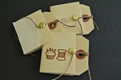 How To Make Hang Tag Notebooks DIY