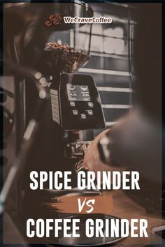 Spice grinder vs. coffee grinder: What are the differences? Can you actually use a spice grinder in place of a coffee grinder? Best French Press, Stainless Steel Coffee Maker, Grinding Coffee Beans, Coffee Grinders, Spice Grinder, Spices And Herbs, Drying Herbs, Best Coffee