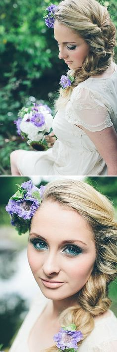 James-Melia-Plait hair wedding Repinned by Moments Photography www.MomentPho.com