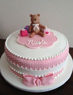 bear cake.