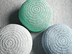 Light Mint Ottoman Pouf-Light Mint Footstool Crochet Pouf-Mint Nursery Decor-Living Room Knit Ottoman Poufs-Kids Furniture-Baby Shower Gifts on Etsy, $98.65