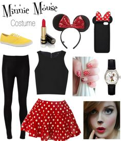 """""""My Halloween Costume"""" by haley7lynn ❤ liked on Polyvore"""