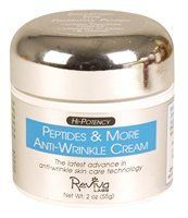 Reviva Peptides and More Anti-Wrinkle Cream 2 oz by Reviva. $26.48. Reviva Labs. Reviva Labs utilizes the key peptide in the Strivectin formula - palmitoyl peptide 3 - but goes further to fight Facial Wrinkles! Strivectin's many moisturizing ingredients for stretch marks can dilute its anti-wrinkle action. Reviva Peptides and More Anti-Wrinkle Cream 2 oz