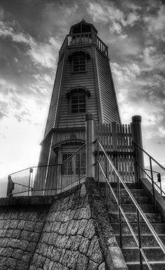 Old Sakai Lighthouse, Osaka, Japan built in 1877. Photo by Lee Walker.