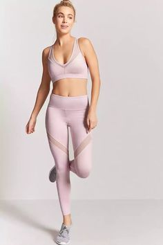 Forever 21 is the authority on fashion & the go-to retailer for the latest trends, styles & the hottest deals. Outfits Leggins, Sporty Outfits, Leggings Fashion, Fashion Outfits, Crop Top And Leggings, Printed Leggings, Forever 21, Sports Leggings, Cheap Leggings