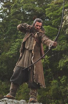 Luke Evans as Bard the Bowman in The Hobbit: The Desolation of Smaug (2013)
