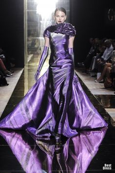 PURPLE - GEORGES CHAKRA 2012/13 HAUTE COUTURE COLLECTION