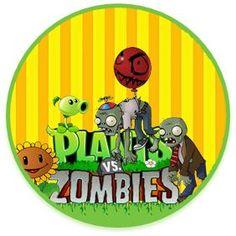 bonobon candy PNATAS VS ZOMBIS kit imprimible