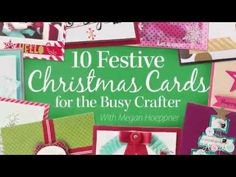Online Class Learn How to Create Festive Christmas Cards