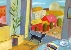 Olivier Tallec - En la ventana