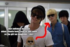 What if the shirt is actually of Taemin dressed up as a girl? Shirt-ception