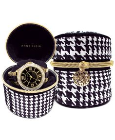 65d5cfbf100c8 Receive a FREE Watch Travel Pouch with any regular-priced Anne Klein watch  Jewelry   Watches - Watches - Macy s
