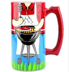"""The 4th is all about Grillin'~WOW him with """"King of the Grill"""" hand painted Steins & Pilsners http://chatterboxboutique.com/collections/drinkware … pic.twitter.com/Jwwld1aAM9"""
