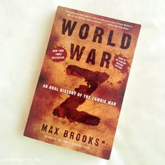 Today on the blog: a book review on World War Z! http://saradujour.me/post/53917645076/book-review-world-war-z