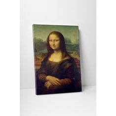 Classic Masters Leonardo Da Vinci 'Mona Lisa' Gallery-wrapped Wall Art