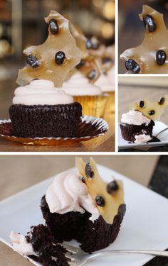 Chocolate Almond Stout Cake