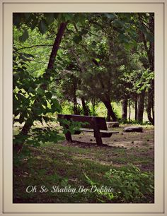 Come sit and just DREAM Oh So Shabby By Debbie Reynolds