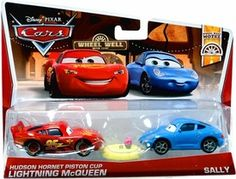 CARS Movie Moments 1:55 2-Pack Nigel Gearsley & Austin Littleton