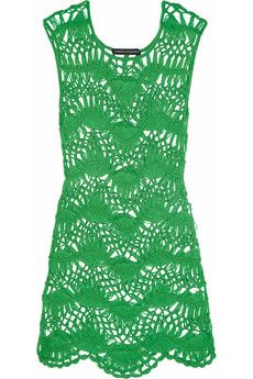 Melissa Odabash + Julien Macdonald Cindy crocheted beach dress | NET-A-PORTER