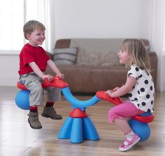 Spiro Bouncer Is A Teeter Totter That Spins And Bounces  ... see more at InventorSpot.com