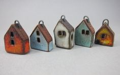 Miniature House Charms