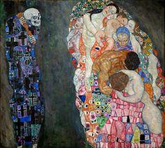 Смерть и Жизнь. Густав Климт