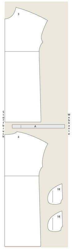 Schnittmuster: Jerseykleid nähen - eine Anleitung zum Selbernähen