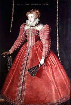 Claude de Valois,Duquesa de Lorraine (1547-1575) hija de Enrique II de Francia