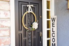 Repurposed Thrift Store Frame Wreath, great as an anytime wreath for all year long.