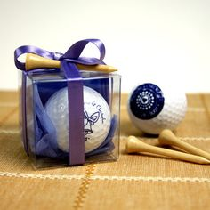 Wedding Golf Balls Gift Box