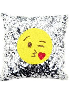 Emoji Pillow Wink