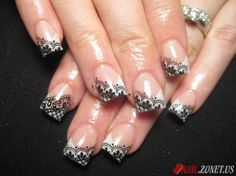 lace Acrylic Nail Designs - Bing Images